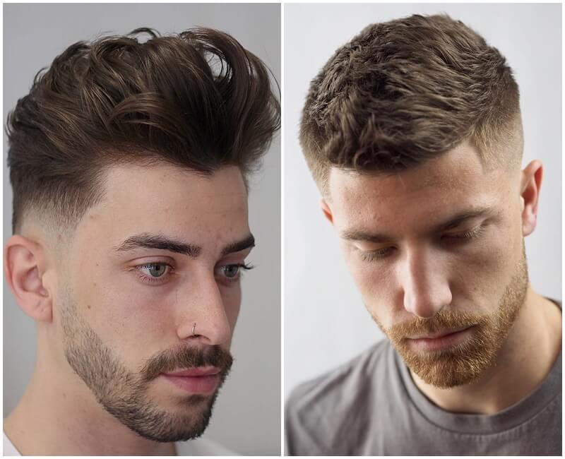 tạo kiểu tóc nhuộm