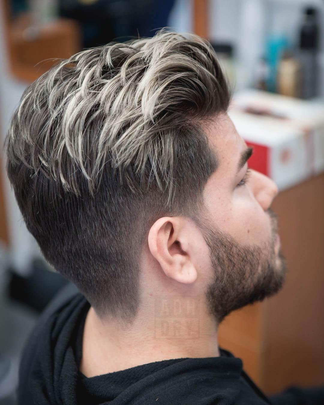Highlight tóc nam