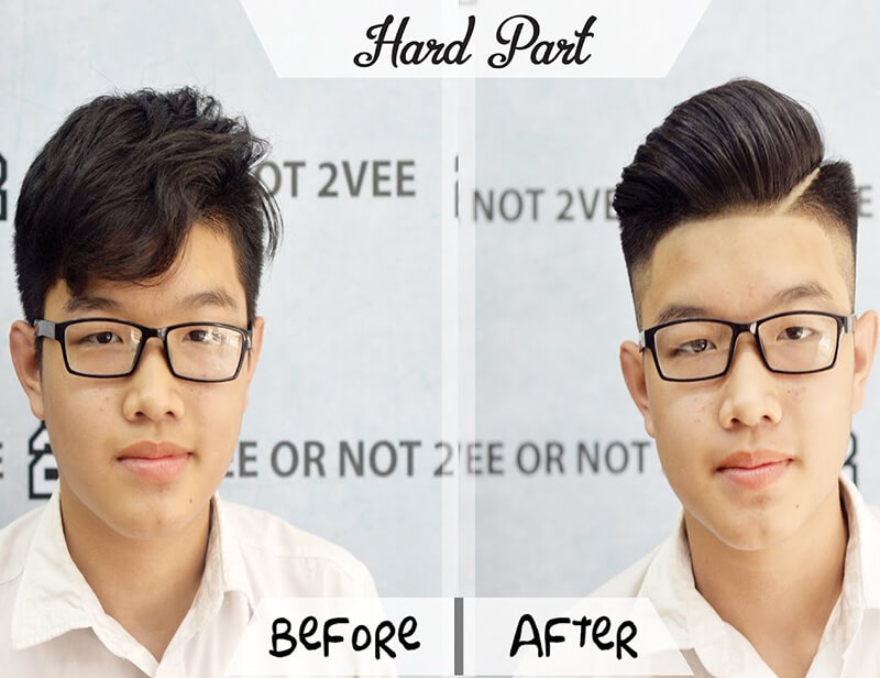 tiệm tóc nam đẹp Salon 2VEE Hair Station