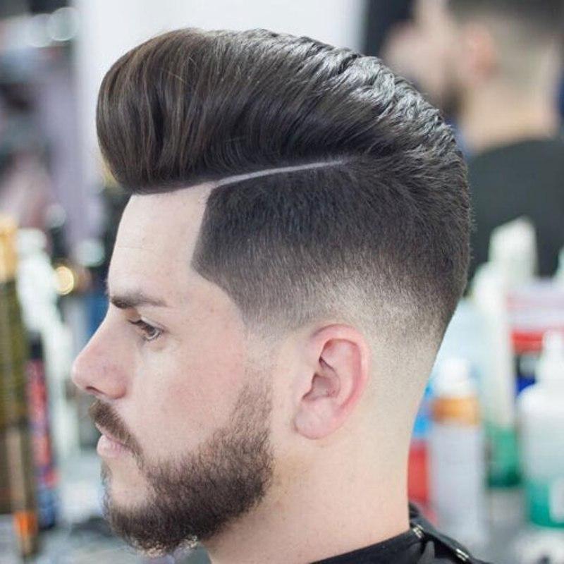 tóc nam đẹp 2019 Pompadour