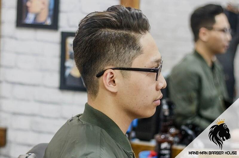 kiểu tóc side part đẹp