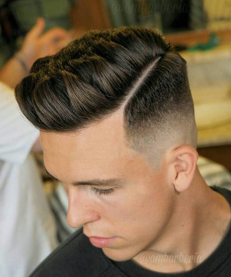 Kiểu tóc Tapered Side Part
