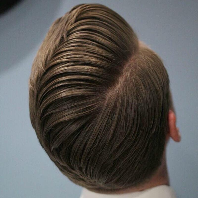 Kiểu tóc Side Part uốn