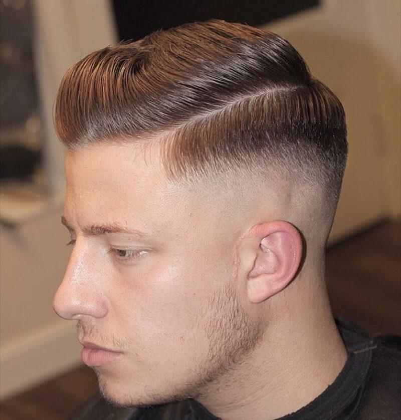 kiểu tóc side part ngắn 2/8