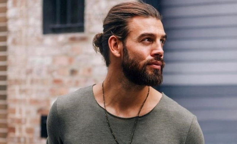 kiểu tóc Man bun 2019