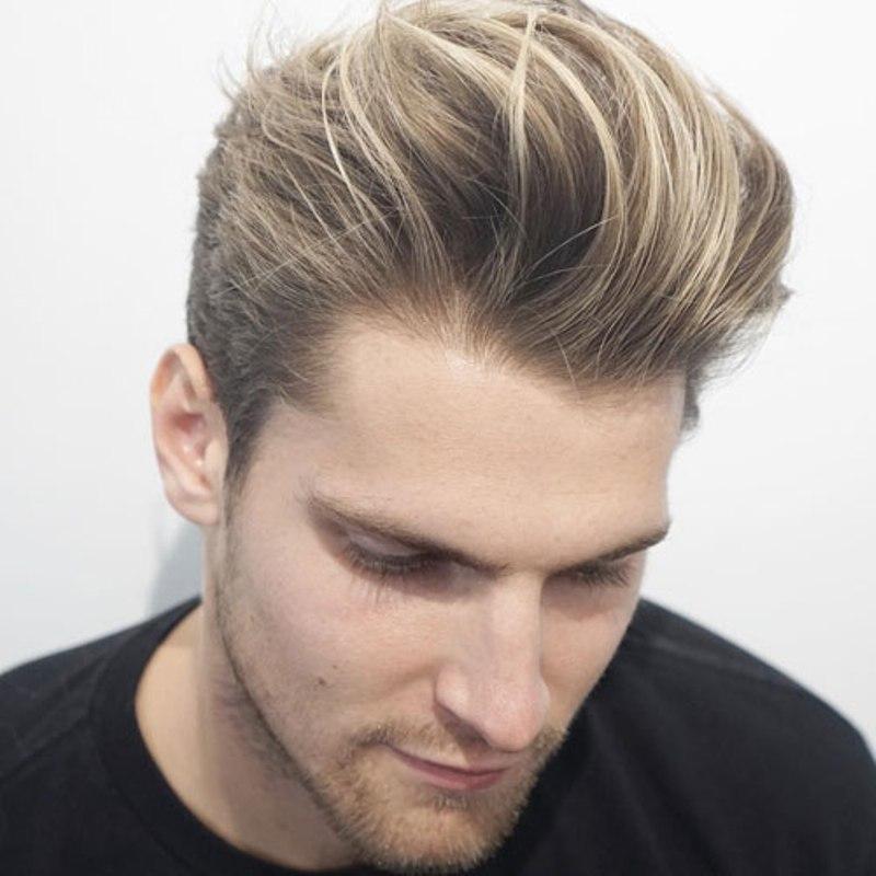 kiểu tóc nam đẹp 2019 Messy Quiff