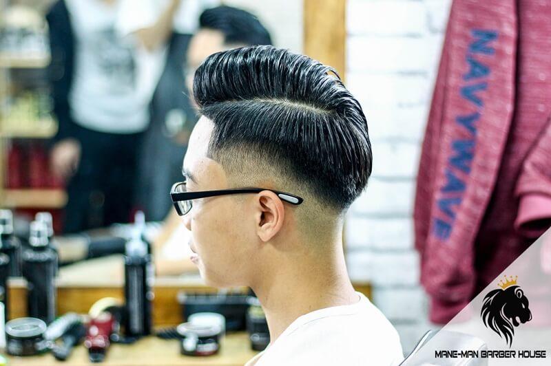 tóc pompadour hiện đại