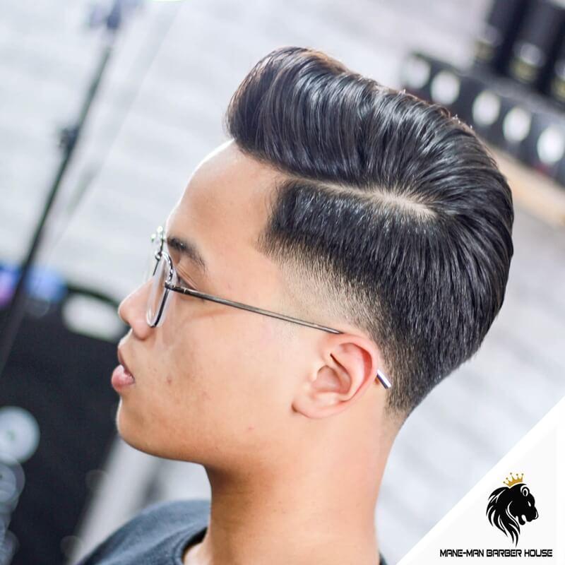 tóc vuốt kiểu Pompadour