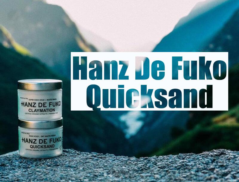 sáp vuốt tóc nam Hanz De Fuko Quicksand