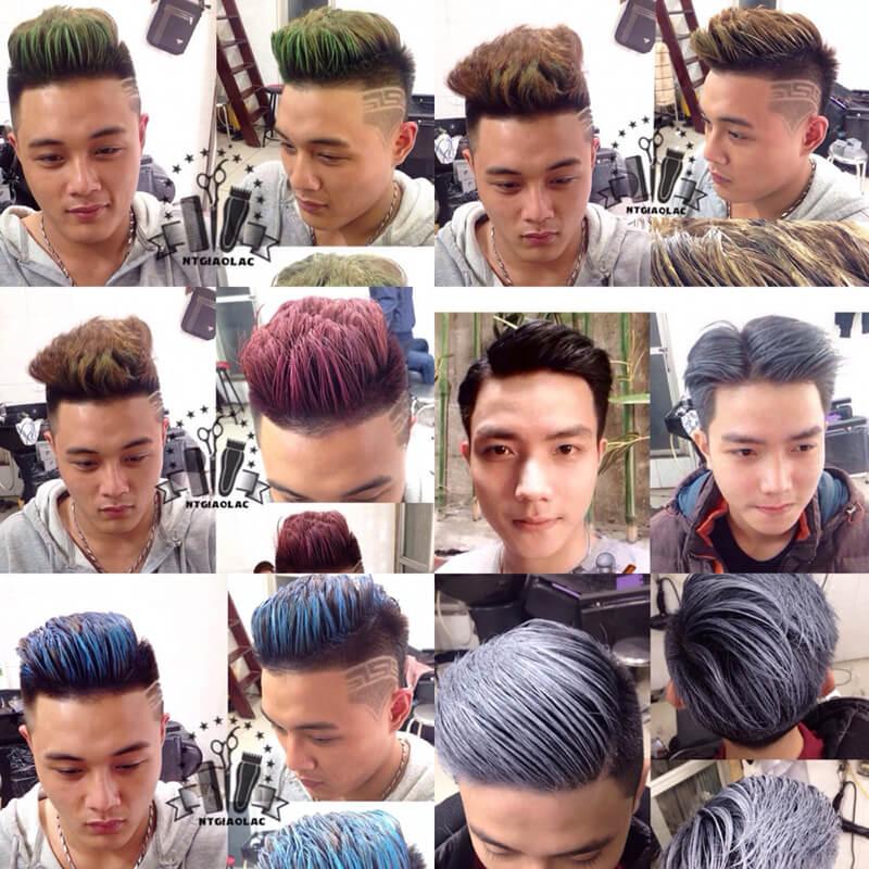 Cách sử dụng và tạo kiểu tóc đẹp với sáp màu