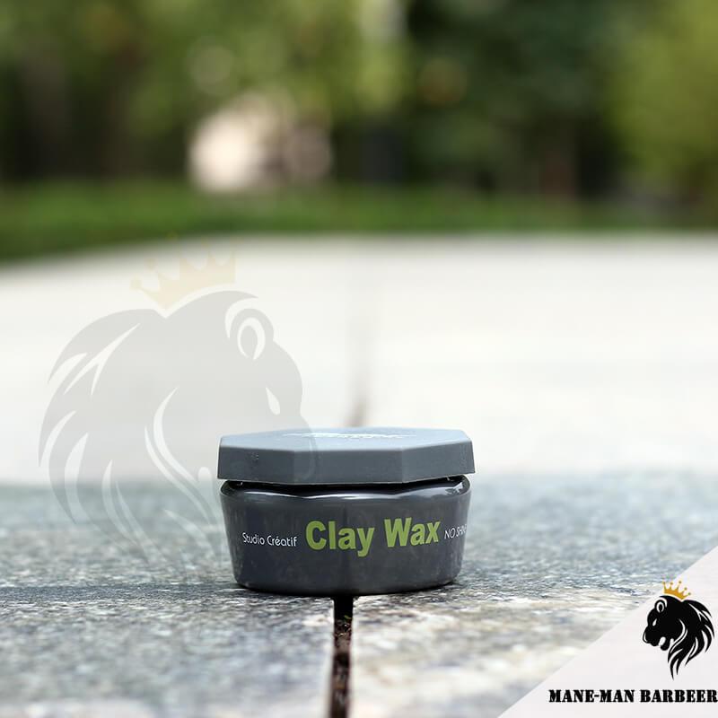 sáp vuốt tóc cứng Clay Wax