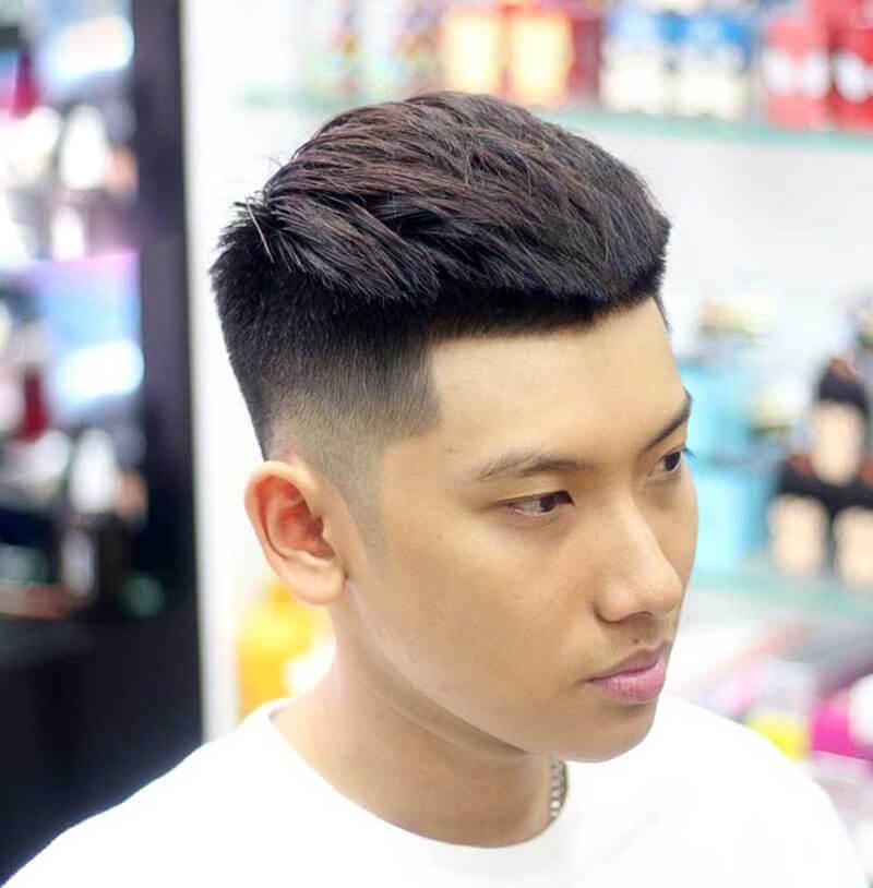 tóc mohican ngắn đẹp