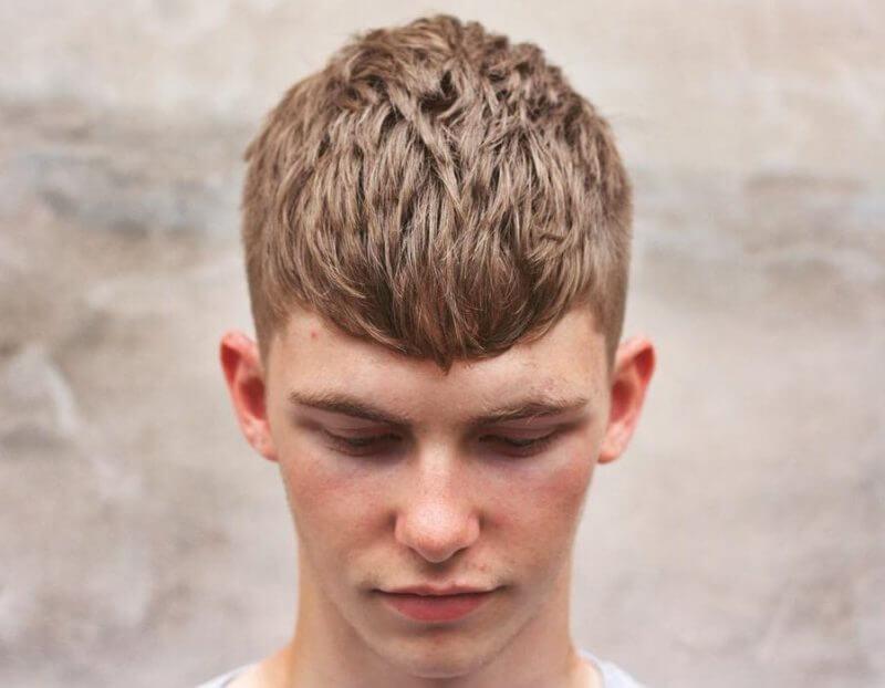 Kiểu tóc Textured Hàn Quốc