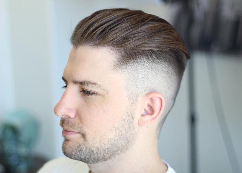 Vuốt tóc Undercut không cần sáp
