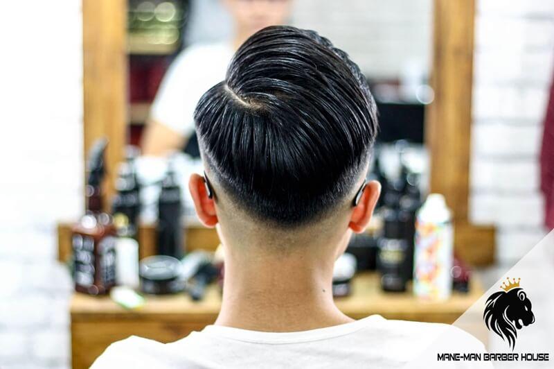 Kiểu tóc undercut để gáy