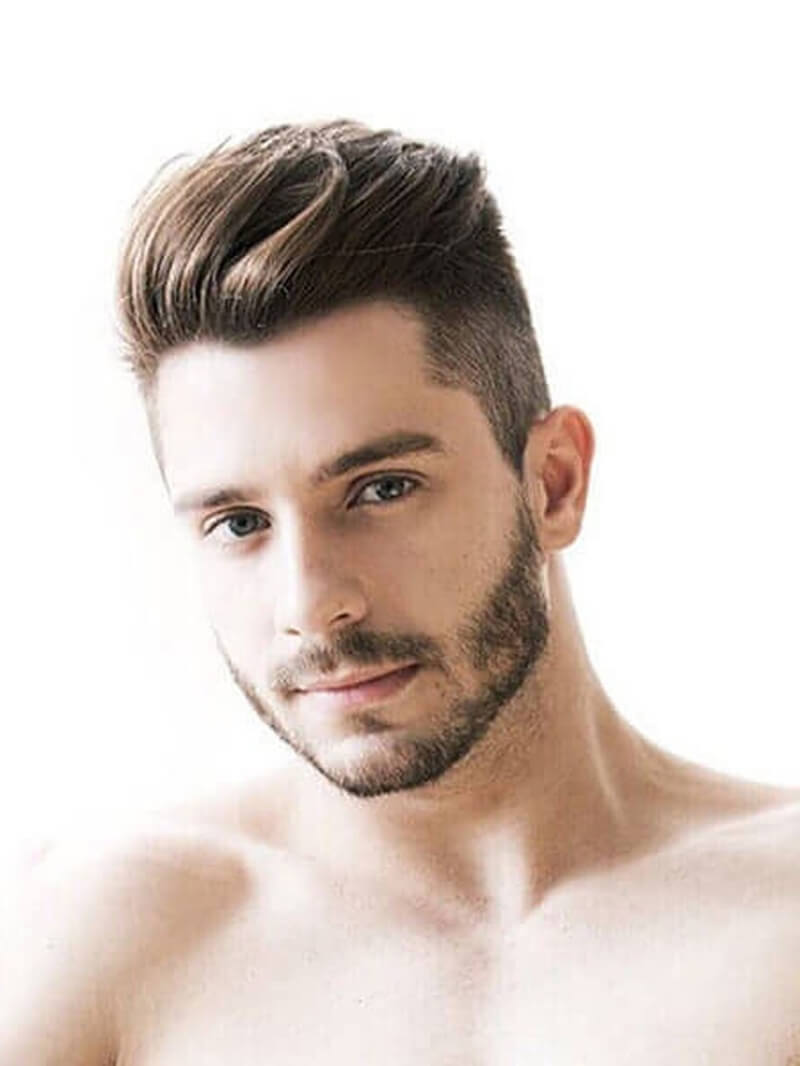 Kiểu tóc undercut mái lệch