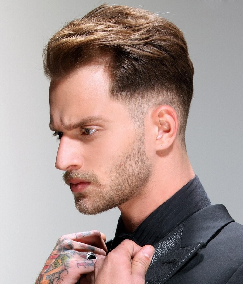 Kiểu tóc undercut layer