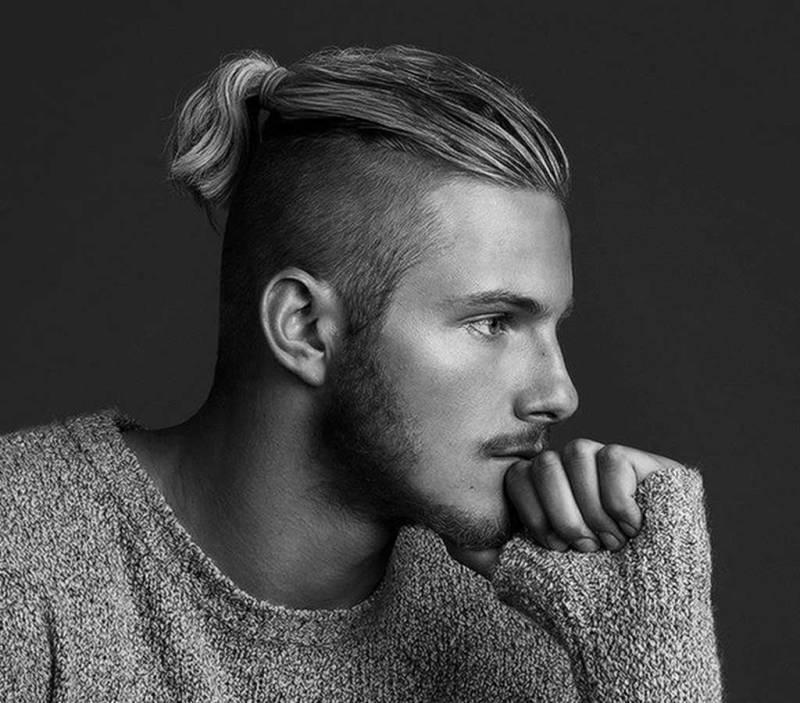 kiểu tóc Top knot 2019