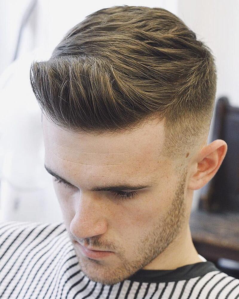 Kiểu tóc Undercut Quiff công sở