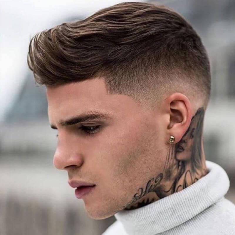 Kiểu tóc disconnected quiff
