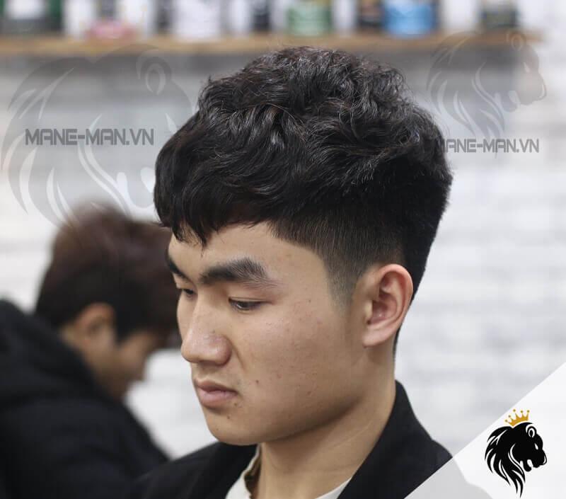Tóc nam uốn Hàn Quốc