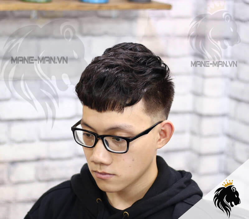 uốn tóc nam đẹp giá rẻ nhất Hà Nội
